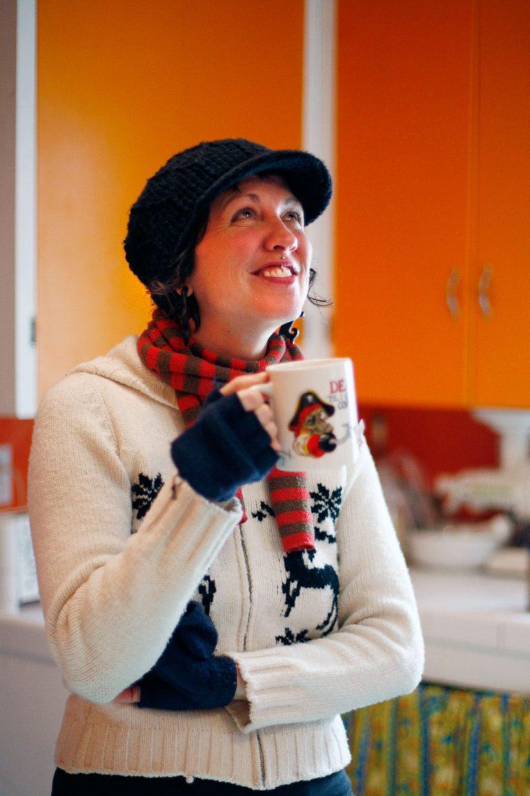 Debbie Rasumssen publisher of Bitch magazine