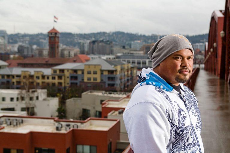 Founder of Bishops Barber Shops Leo River in Portland Oregon