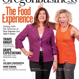 Oregon Business Cover October 2014