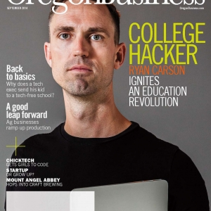 Oregon Business Cover September 2014