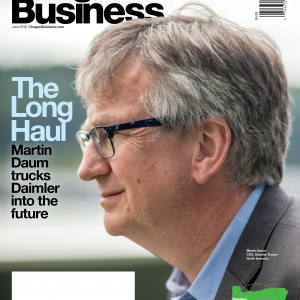 Oregon Business Cover June 2016 - Martin Daum portrait