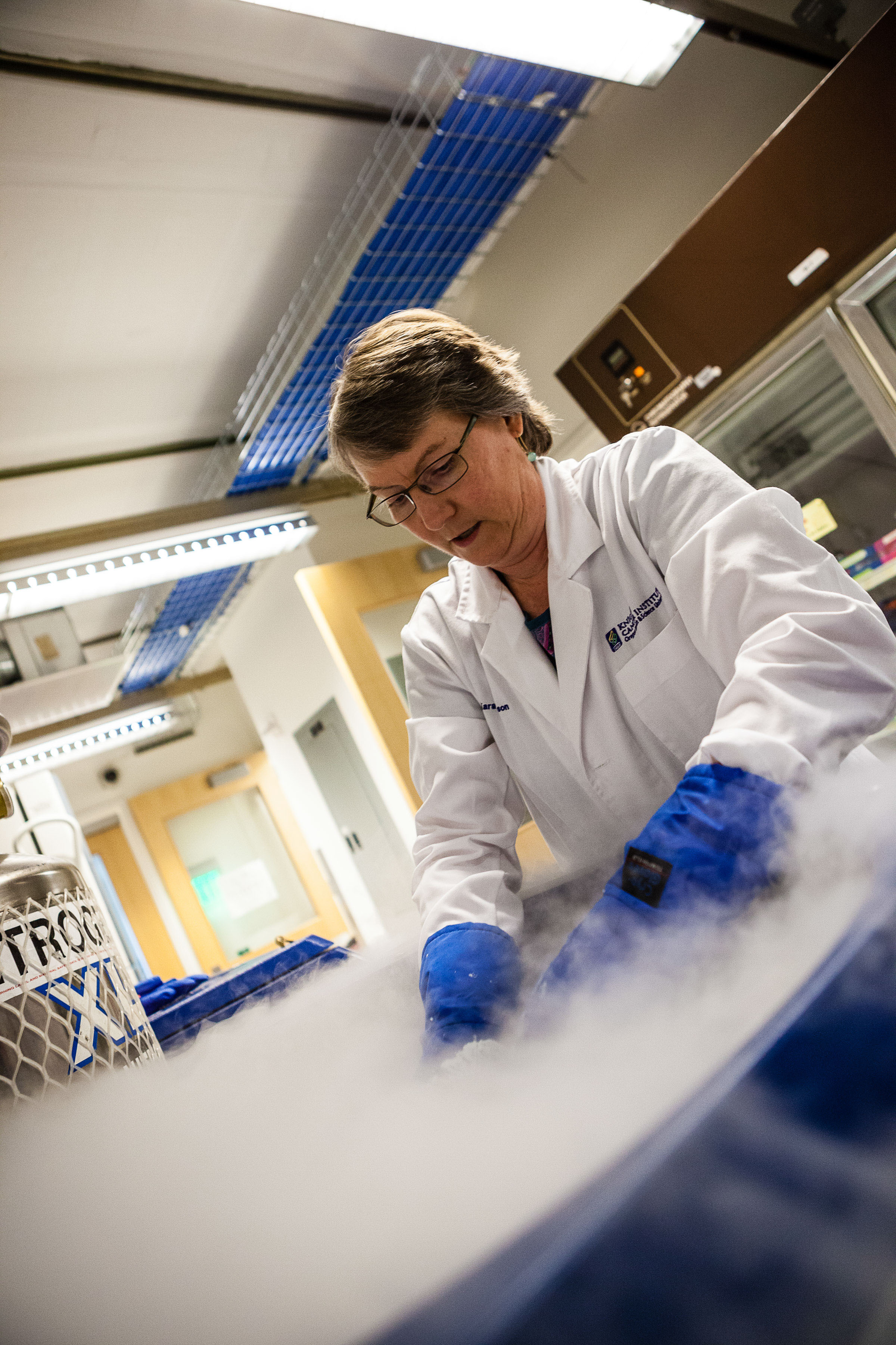 Lab Manager at Work at  Knight Cancer Center