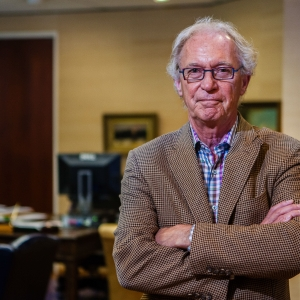 Portrait of Oregon Ceo in his office